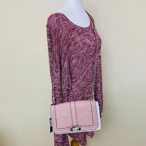 Rebecca Minkoff Pink Leather Geo Quilted XH17EGQX0